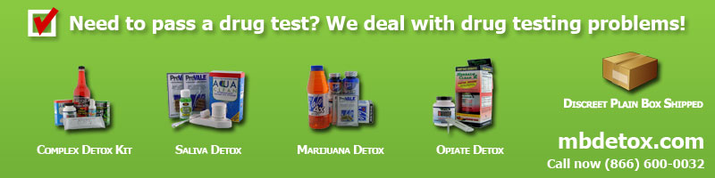 Pass Marijuana Detox Detoxification