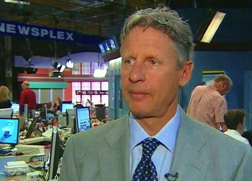 Gary Johnson Legalize Medical Marijuana
